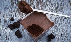 9 mousse ciocolato